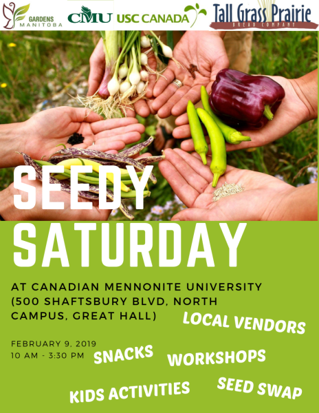 seedy saturday 2019 Winnipeg
