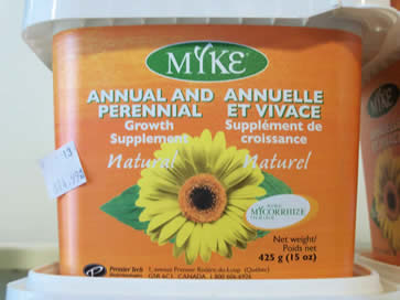Myke Annual and Perennial Supplement and Fertilizer - Jensen's Nursery and Garden Centre - Plant Nursery - Winnipeg - Manitoba