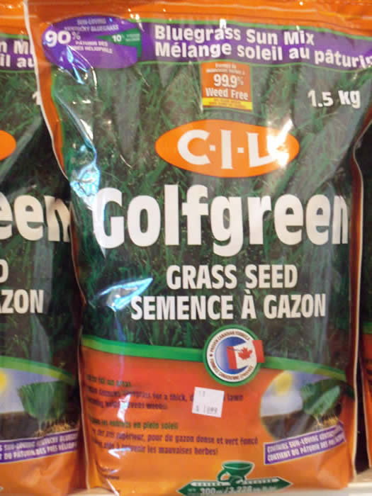 CIL Golfgreen Grass Seed - Jensen's Nursery and Garden Centre - Garden Center - Winnipeg - Manitoba