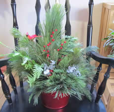 Indoor Christmas Container - Jensen's Nursery and Garden Centre - Garden Center - Winnipeg - Manitoba