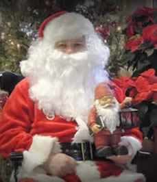 visit santa , free santa pictures, picture with santa, jensen nursery and garden center, Winnipeg garden centers. christmas shop
